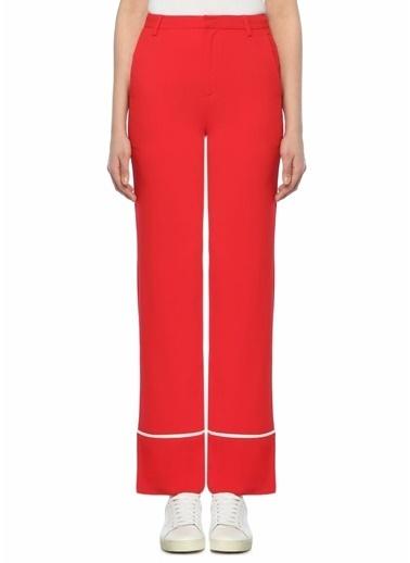 Mo&Co Pantolon Kırmızı